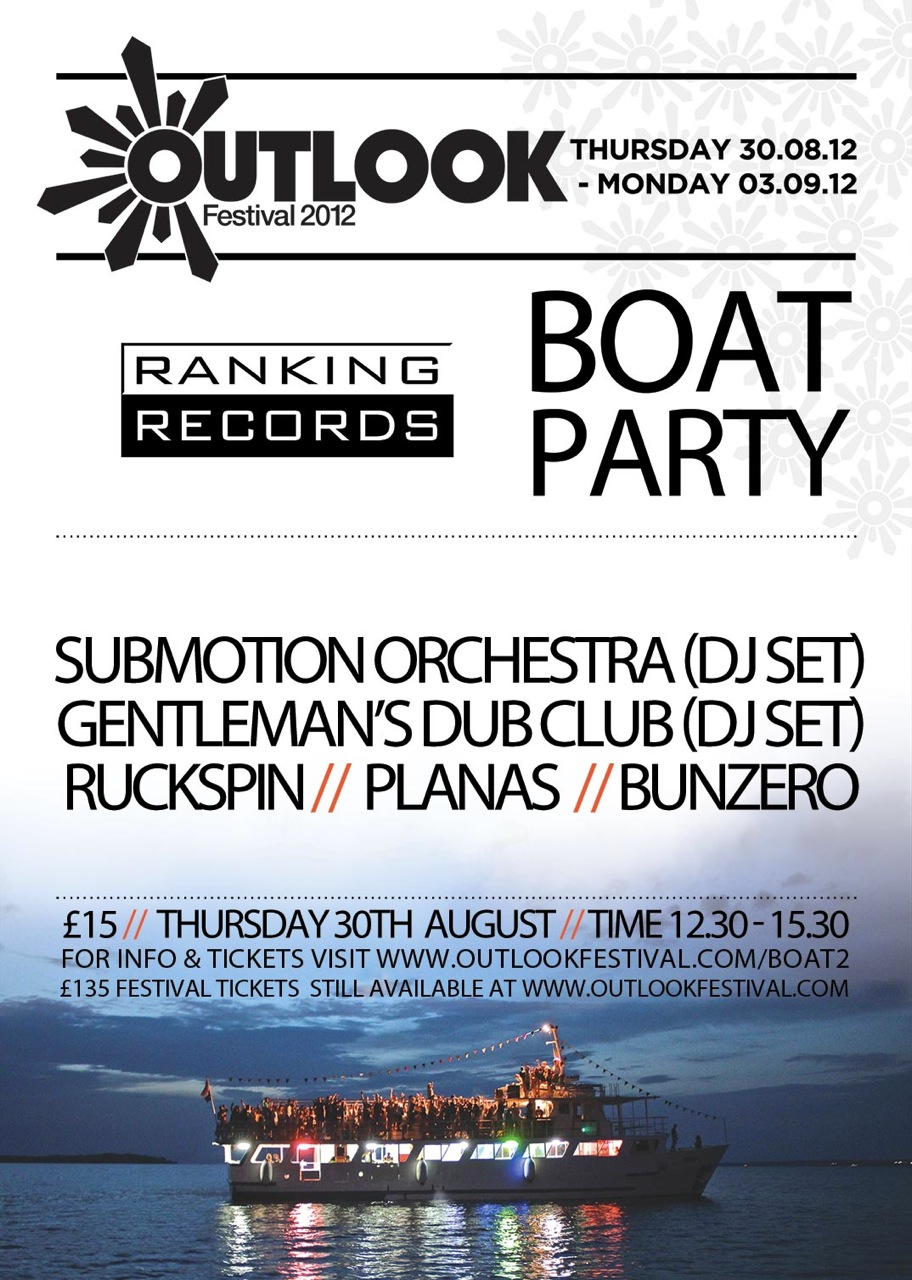 Ranking Records boat party